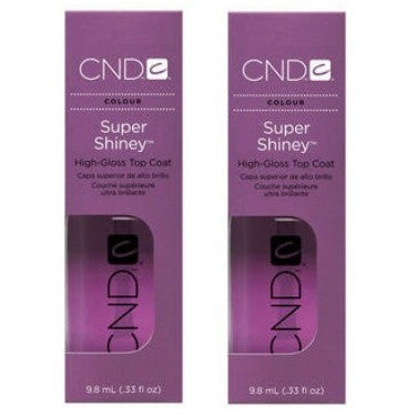 CND Super Shiney High-Gloss Top Coat 0.33 oz 2 ct - Universal Nail Supplies