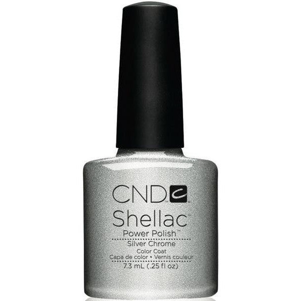 CND Creative Nail Design Shellac - Silver Chrome  - Universal Nail Supplies