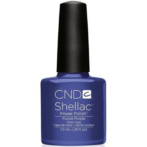 CND Creative Nail Design Shellac - Purple Purple - Universal Nail Supplies