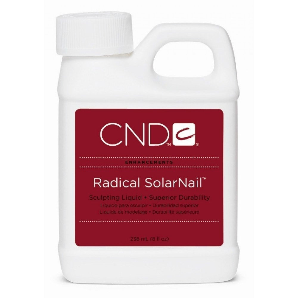 CND Radical Solarnail Sculpting Liquid 8 oz - Universal Nail Supplies