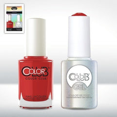 Color Club GEL Duo Pack - Cadillac Red #115