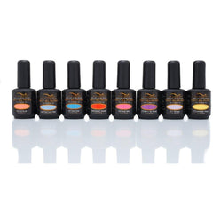 Bio Seaweed Carnival Collection - Unity All-In-One Colour Gel Polish Set of 8