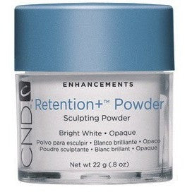 CND Retention + Sculpting Powder Bright White Opaque 0.8 oz - Universal Nail Supplies