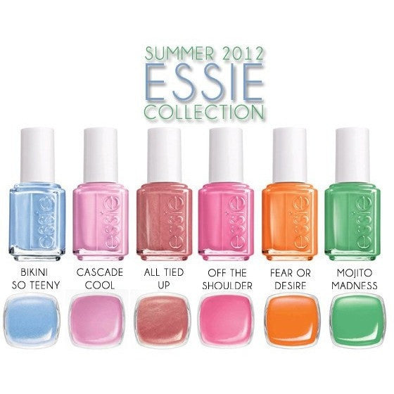 Essie Lacquer Bikini So Teeny Collection - Universal Nail Supplies