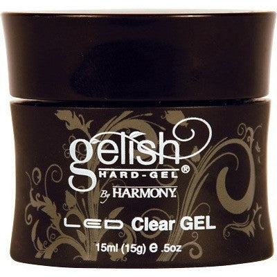 Harmony Gelish Hard-Gel LED Clear GEL - Universal Nail Supplies