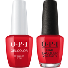 OPI GelColor + Matching Lacquer My Wish List Is You #J10