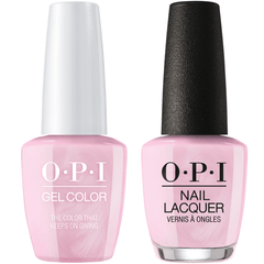 OPI GelColor + Matching Lacquer The Color That Keeps On Giving #J07