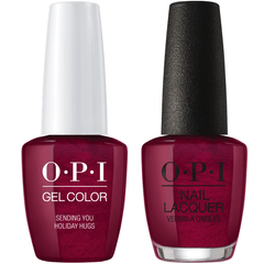 OPI GelColor + Matching Lacquer Sending You Holiday Hugs #J08