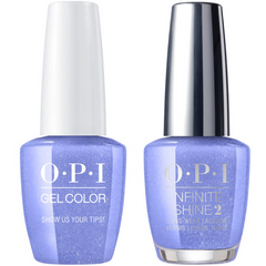 OPI GelColor Show Us Your Tips! #N62 + Infinite Shine #N62