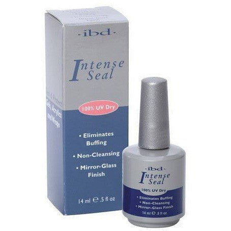 IBD Intense Seal - Mirror-Glass Finish 0.5 oz - Universal Nail Supplies
