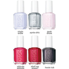 Essie Lacquer Virgin Snow Collection