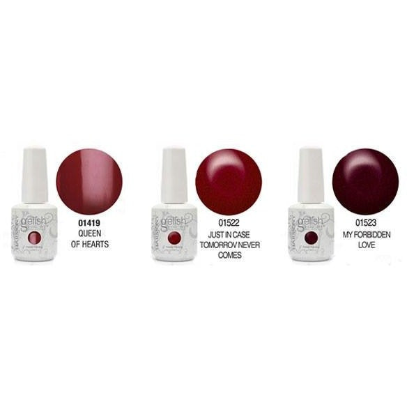 Harmony Gelish Winter Reds Collection - Universal Nail Supplies