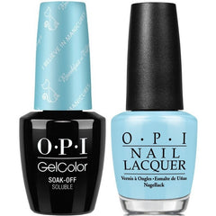 OPI GelColor + Matching Lacquer I Believe In Manicures #H01