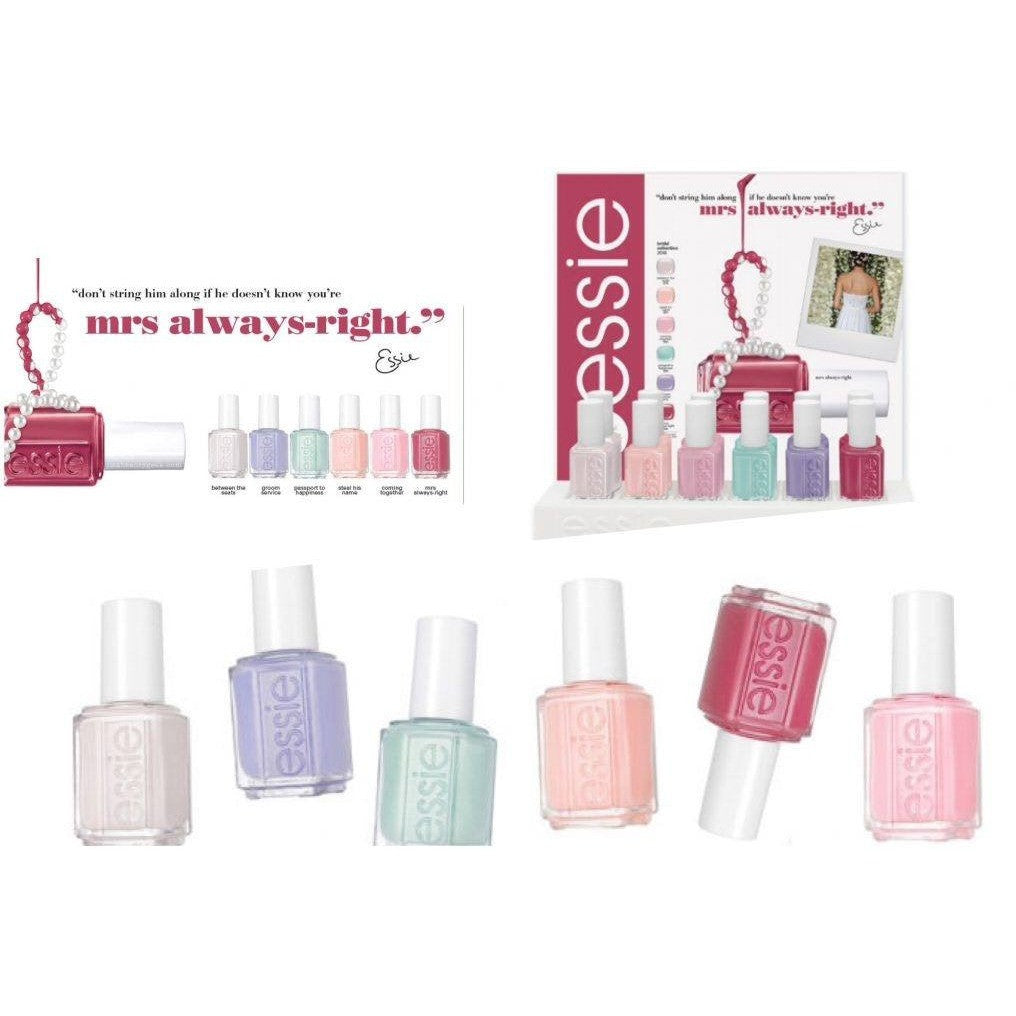 Essie Lacquer Mrs Always-Right Collection - Universal Nail Supplies