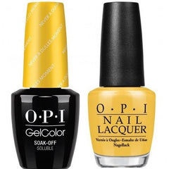 OPI GelColor + Matching Lacquer Never A Dulles Moment #W56