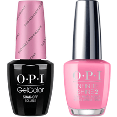 OPI GelColor Suzi Nails New Orleans #N53 + Infinite Shine #N53