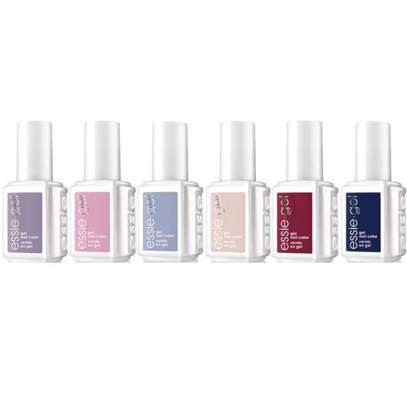 Essie Gel Fall 2017 As If Collection Set of 6
