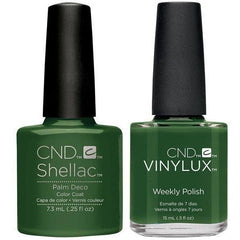 CND Creative Nail Design Vinylux #246 + Shellac Palm Deco