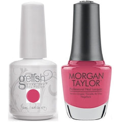Harmony Gelish Be Our Guest #1110248 + Morgan Taylor #3110248