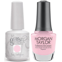 Harmony Gelish Plumette With Excitement #1110249 + Morgan Taylor #3110249