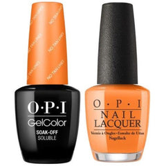 OPI GelColor + Matching Lacquer No Tan Lines #F90
