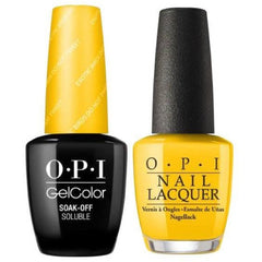 OPI GelColor + Matching Lacquer Exotic Birds Do Not Tweet #F91