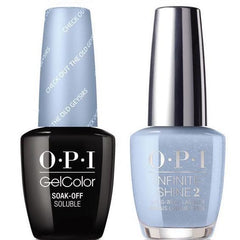 OPI GelColor Check Out the Old Geysirs #I60 + Infinite Shine #I60
