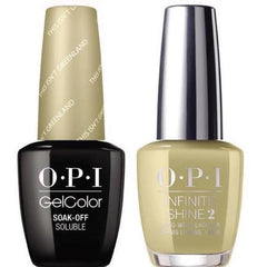 OPI GelColor This Isn't Greenland #I58 + Infinite Shine #I58