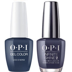 OPI GelColor Less is Norse #I59 + Infinite Shine #I59