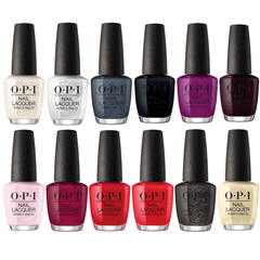 OPI Lacquer Holiday 2017 Xoxo Collection Set Of 12