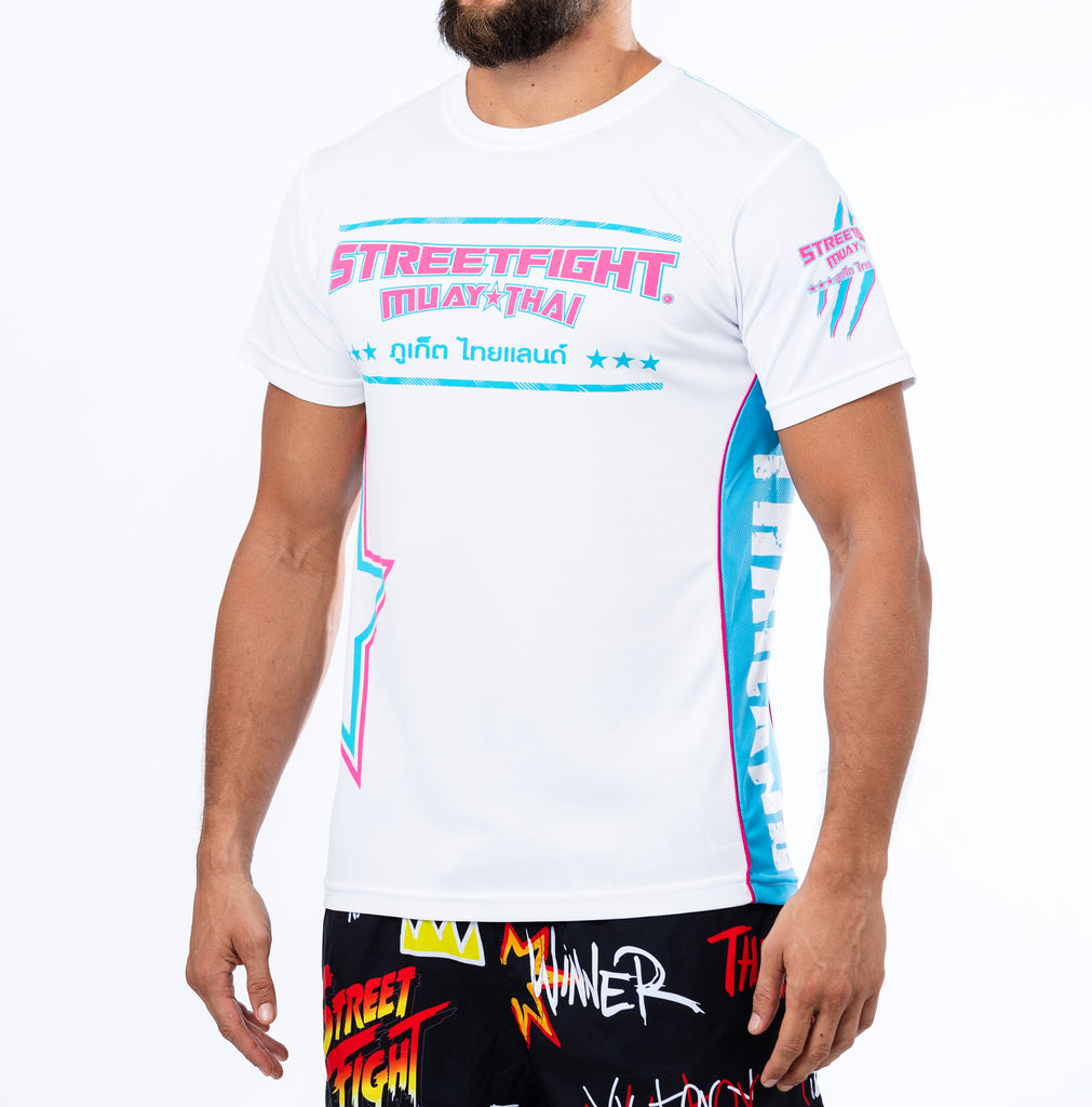 StreetFight 'Origins 2.0' White/Blue/Pink