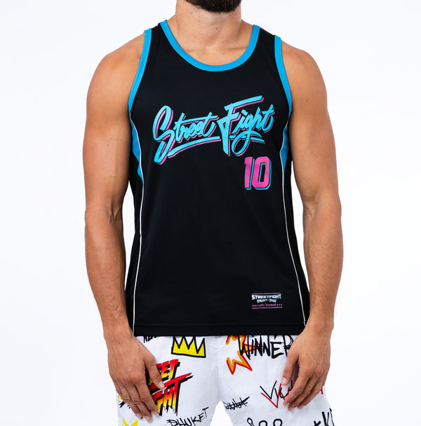StreetFight 'Grafiti' Black/Blue/Pink