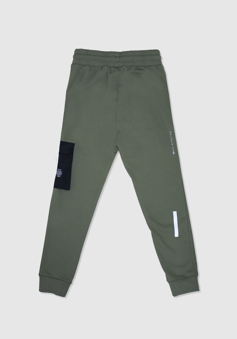 PANTALON JOGGING ANTIK GREEN