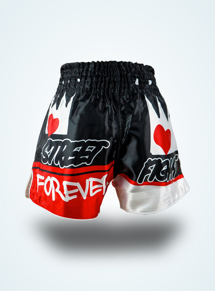 Forever Muay Thaï short Noir « Collection SF Muai Thaï »