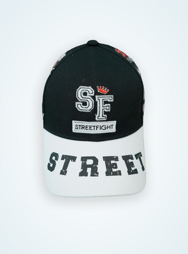 StreetFight cap « Winner » Black & White