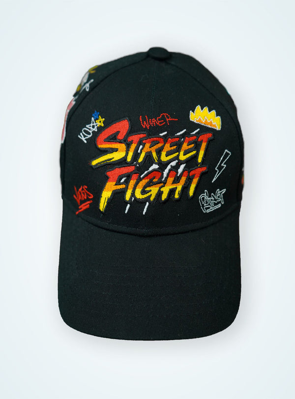 STREETFIGHT « Vatos » Cap Black