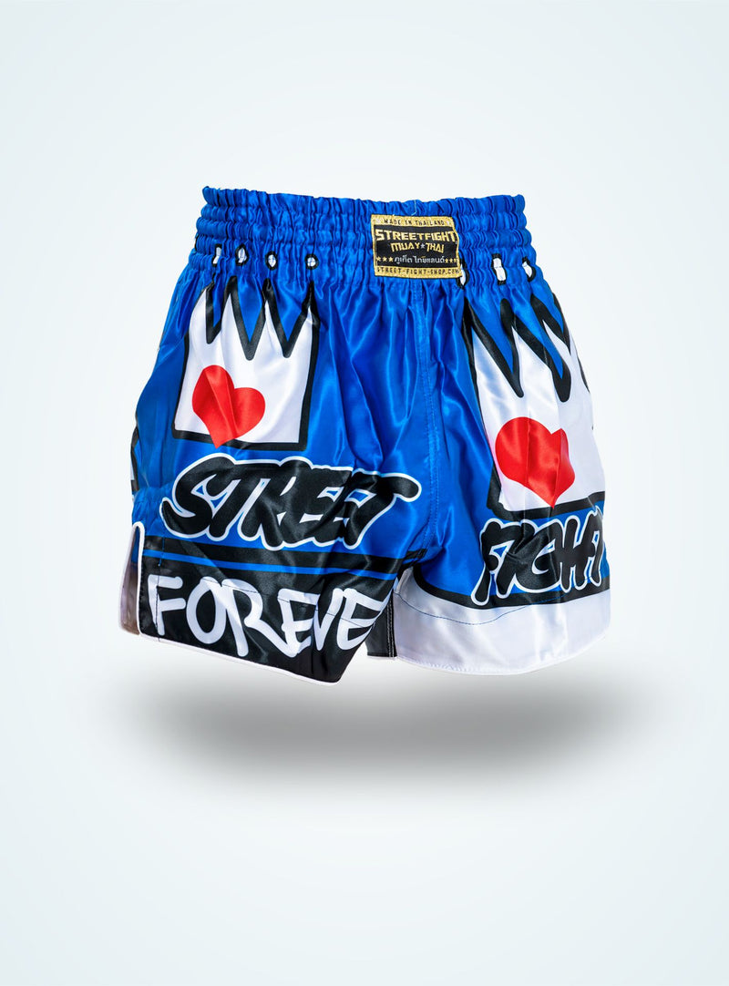 Forever Muay Thaï Short Bleu « Collection SF »