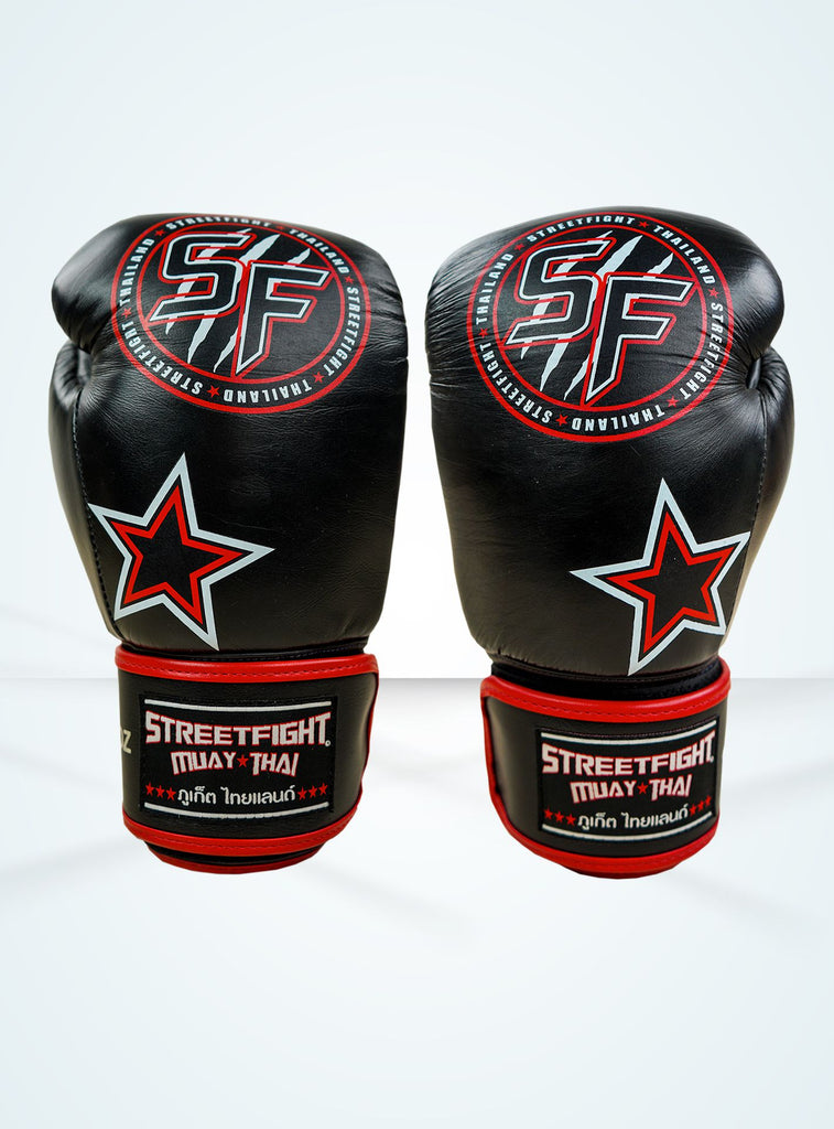StreetFight 'Star' Black/White/Red