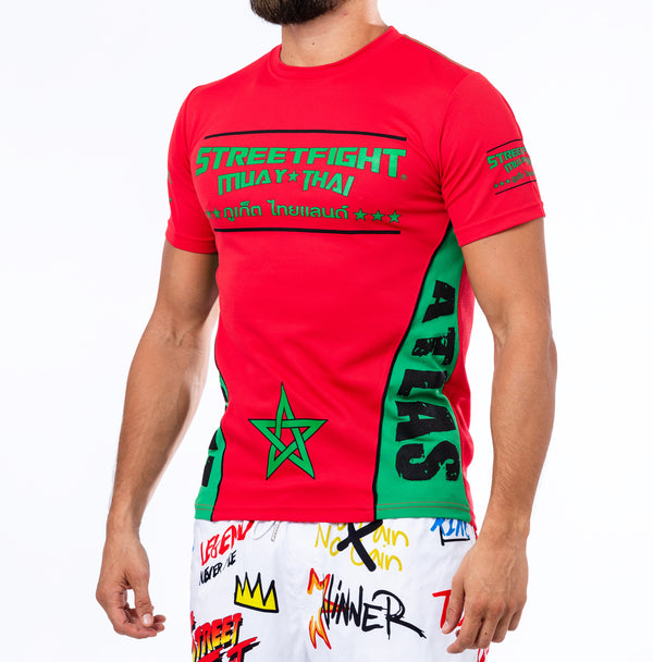 T-shirt « Origins » Morocco Red