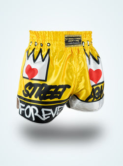 Forever Muay Thaï short Jaune « Collection SF »