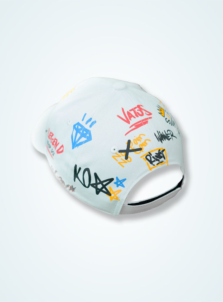 Casquette Blanche « Collection Vatos »