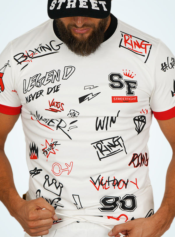 T-shirt Blanc « Collection Winners »