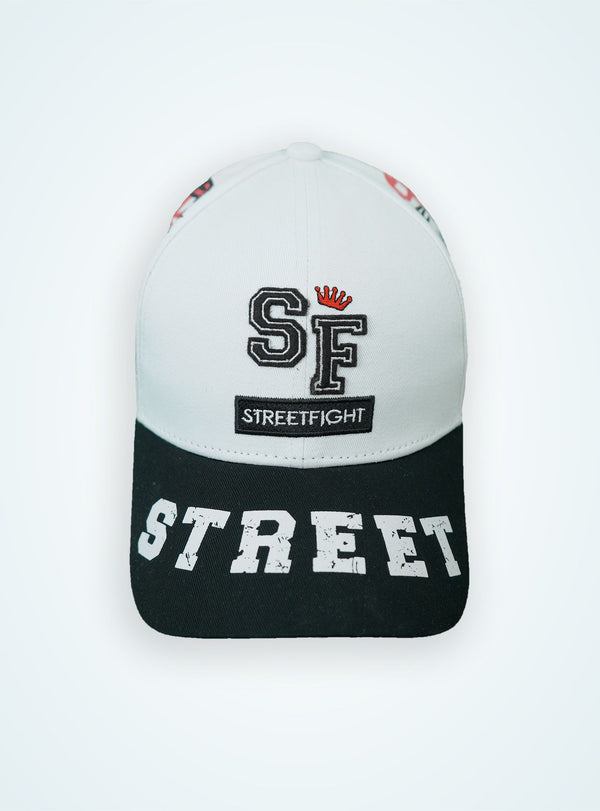 StreetFight cap « Winner » white & black