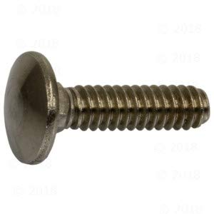 Hard-To-Find Fastener 014973178642 Carriage Bolts, 3/16-24 X 3/4, Piece-12