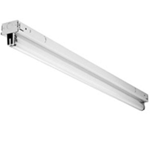 Lithonia Lighting Z232 Mv 4-Feet 2L Low Profile T8 Striplight, White