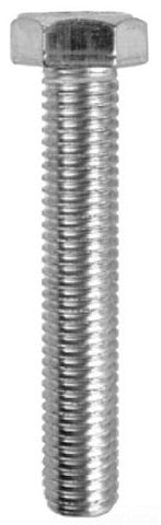 L.H. Dottie Mb382 Tap Bolt, Hex Head, 3/8-Inch-16 Tpi By 2-Inch Length, 9/16-Inch Hex, Zinc Plated,