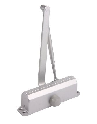 Sentinel 5014 - Grade 1 Hydraulic Door Closer Adjustable 1-4 Spring Tension With Back Check, Aluminum