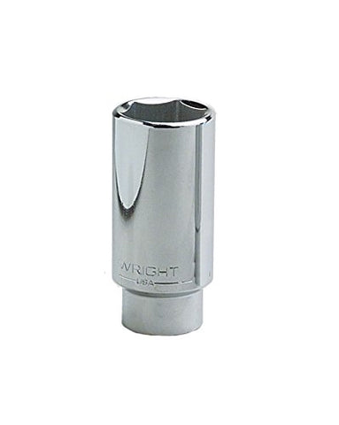 Wright Tool 4598 7/8  - 1/2  Drive 6-Point Spark Plug Holding Socket