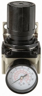 Central Pneumatic 125 Psi Air Flow Regulator With Gauge