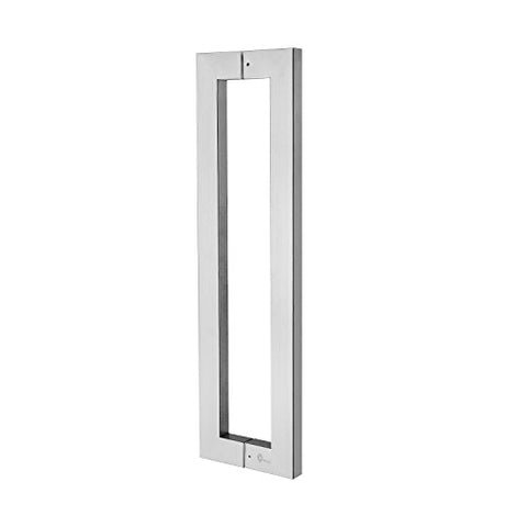 Super Promotion!!!Togu Tg-6013 300Mm/12 Inches Square/Rectangle Shape Stainless Steel Push Pull Door Handle For Solid Wood, Timber, Glass And Steel Doors, Full Brushed Stainless Steel Finish